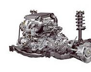 Снятие и установка передней подвески переднеприводных автомобилей