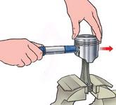 Проверка технического состояния и ремонт шатунно-поршневой группы