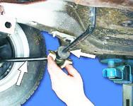 Проверка технического состояния штанги стабилизатора