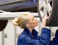 Определение установки схождения передних колес