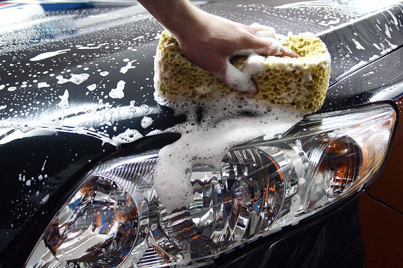 выбор средств для мытья машины